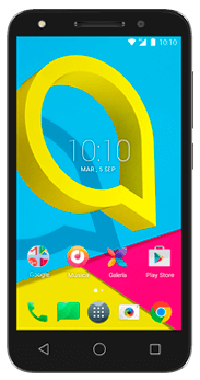 FRONTAL ALCATEL U5 4G NEGRO