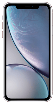 FRONTAL IPHONE XR BLANCO
