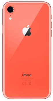TRASERA IPHONE XR CORAL