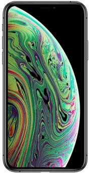 FRONTAL IPHONE XS GRIS ESPACIAL