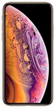 FRONTAL IPHONE XS ORO