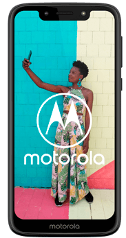 FRONTAL MOTOROLA G7 PLAY NEGRO