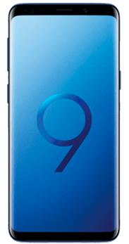 FRONTAL SAMSUNG GALAXY S9 CORAL BLUE